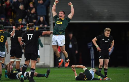 VIDEO. The mighty have fallen: Les All-Blacks se font surprendre à la maison par l'Afrique du sud
