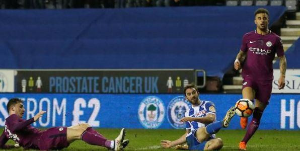 Foot - Cup - Will Grigg «on fire» et Wigan éliminent Manchester City en 8es de finale de la Cup