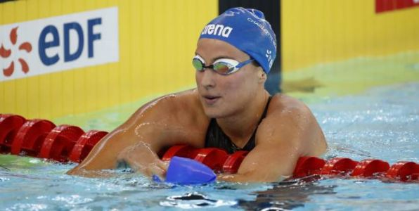 Natation - Open de France - Open de France:  Charlotte Bonnet en démonstration