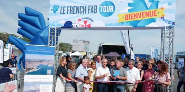 French Fab Tour à Toulon:  l'innovation navale a le vent en poupe