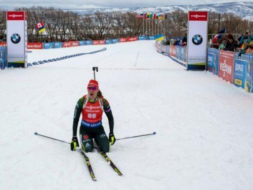Biathlon: Denise Herrmann remporte la poursuite de Soldier Hollow