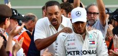 Formule 1: Will Smith a pris la place de Lewis Hamilton