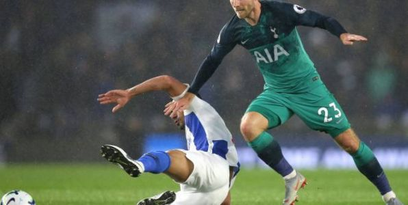 Foot - ANG - Premier League:  Tottenham arrache les trois points contre Brighton