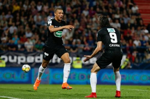 EN DIRECT - Coupe de France:  doublé pour Mbappé, le PSG finit fort face à Caen (1 - 2)