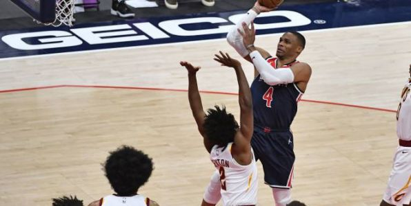 Basket - NBA - Washington en play-in de la NBA avec un nouveau triple-double de Russell Westbrook