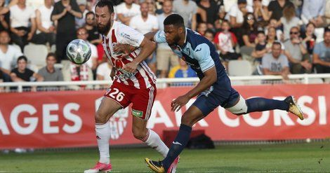Barrages Ligue 2: l'AC Ajaccio se qualifie aux tirs au but
