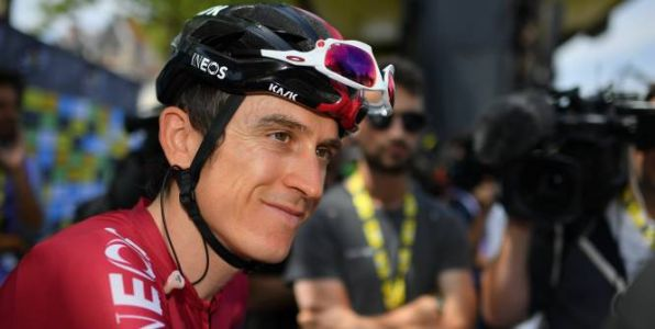 Tour de France - Geraint Thomas  : « Être constant, c'est le plus important »