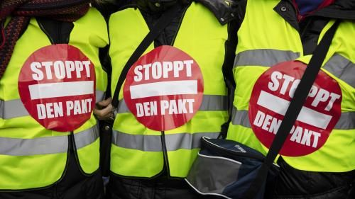 """Gilets jaunes"":  interdiction de manifestation à Strasbourg"