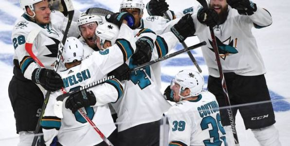 Hockey - NHL - NHL:  après deux prolongations, San Jose arrache un match 7 face à Las Vegas