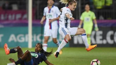 Foot - Coupe de France dames:  Lyon l'emporte face au PSG