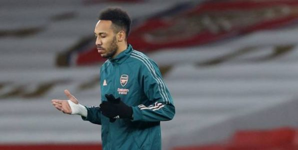 Foot - ANG - Arsenal - Pierre-Emerick Aubameyang incertain pour affronter Manchester United