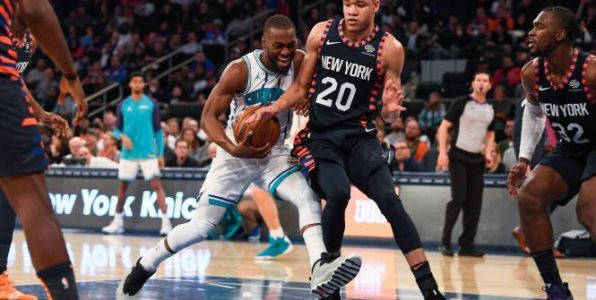 Basket - NBA - NBA:  les Hornets enchaînent à New York