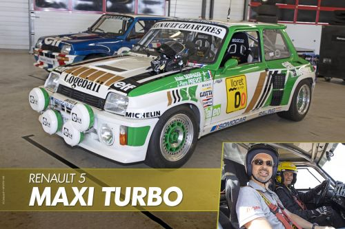 J'ai conduit la Renault 5 Turbo !