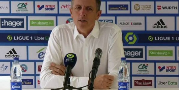 Foot - L1 - Strasbourg - Thierry Laurey ironise sur Mediapro et son actionnaire chinois