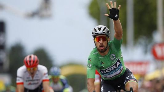 "Tour de France 2018. Sagan : ""Un sprint un peu bordélique"""