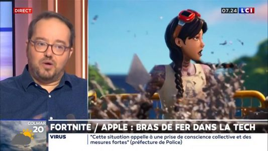 Fortnite / Apple:  bras de fer dans la tech