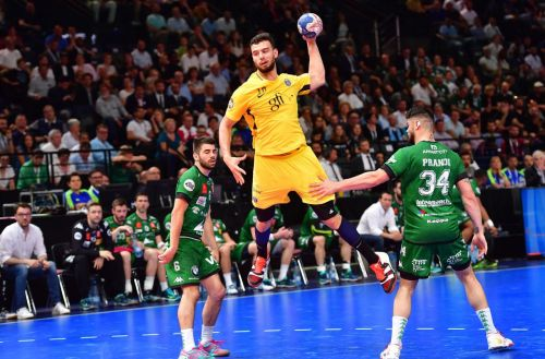 Le PSG handball remporte la Coupe de France contre Nîmes (32-26)