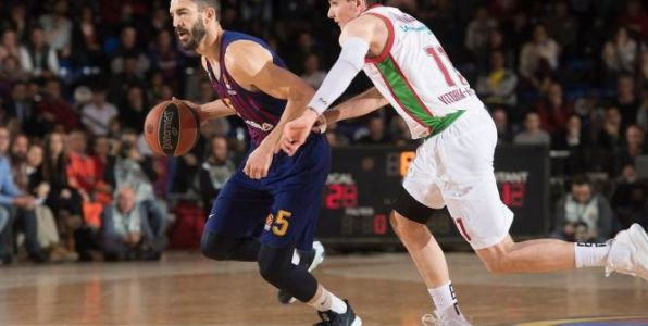 Basket - Euroligue - Euroligue:  le FC Barcelone bat facilement Vitoria