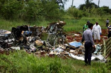 Cuba:  le crash de l'avion a fait 110 morts