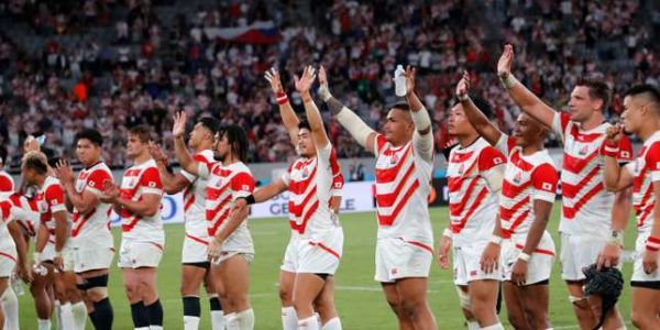 Coupe du monde de rugby 2019 : au Bar Sports Legends de Tokyo, on applaudit la victoire du XV japonais
