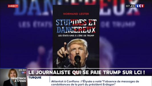 Le journaliste Normand Lester se paie Trump