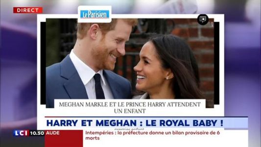 Harry et Meghan:  le royal baby est en route !