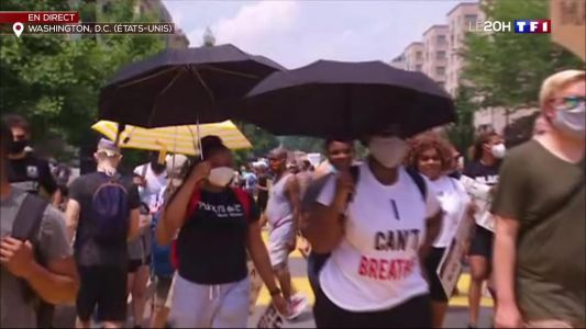 Lutte contre le racisme:  vaste manifestation à Washington