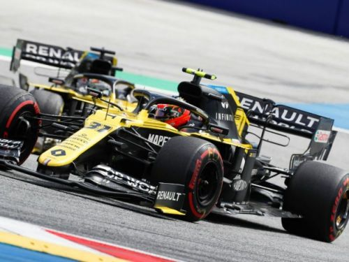 F1: Renault porte réclamation contre Racing Point