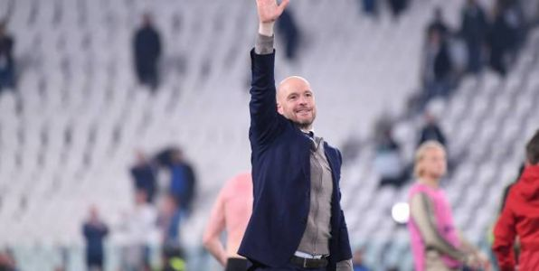 Foot - HOL - Ajax - Ajax:  Erik Ten Hag prolonge jusqu'en 2022