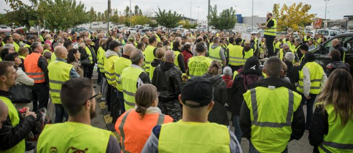 Gilets jaunes : 1 500 actions attendues en France