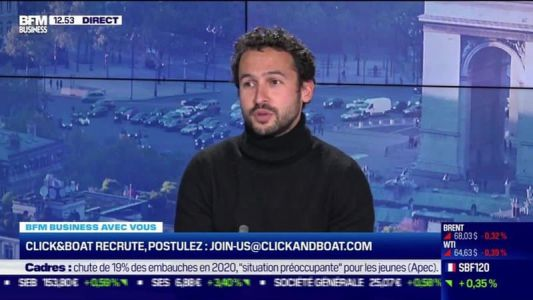 Vous recrutez:  Sweetair / Click & Boat - 07/05
