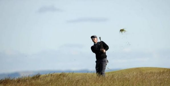 Golf - British Open - British Open : David Duval, signe un 13 record sur un par 5