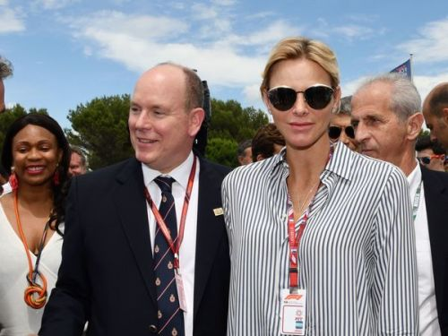 PHOTOS. Au Grand Prix de France, Charlène et Albert de Monaco font sensation