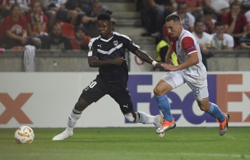 Ligue Europa: Les Girondins de Bordeaux s'inclinent face au Slavia Prague au terme d'une prestation indigne (1-0)