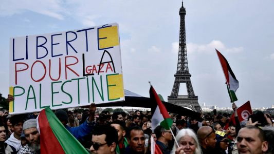 La manifestation pro-Palestine maintenue à Paris malgré l'interdiction