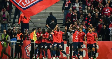 Ligue 1:  Lille, miraculé face à Reims (1-1), prend 5 points d'avance sur l'OM