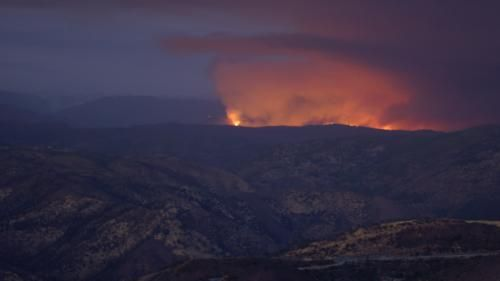 Californie:  un incendie menace le parc naturel de Yosemite