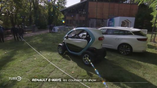 Renault E-Ways, les coulisses du show - Reportage TURBO du 25/10/2020
