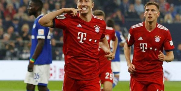 Foot - ALL - Le Bayern Munich enfonce Schalke 04
