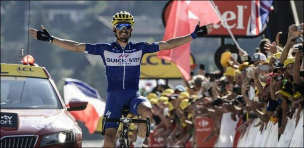 Tour de France - Julian Alaphilippe s'impose en solitaire