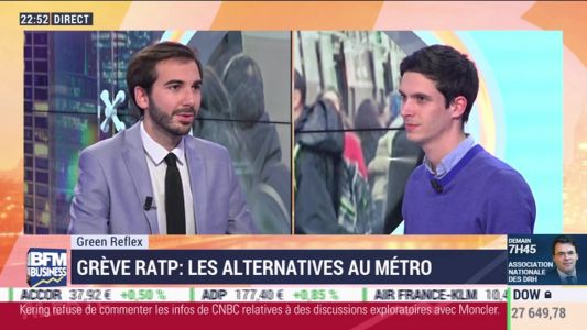 Green Reflex: Grève RATP, les alternatives au métro - 04/12